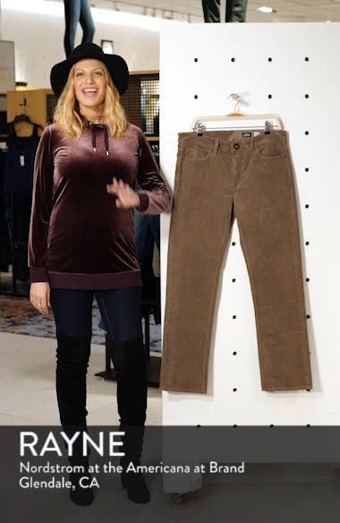 Solver Slim Straight Leg Corduroy Pants, sales video thumbnail