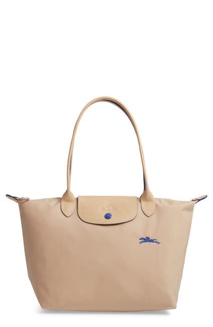 Image of LONGCHAMP Medium Canvas Club Shoulder Tote Bag