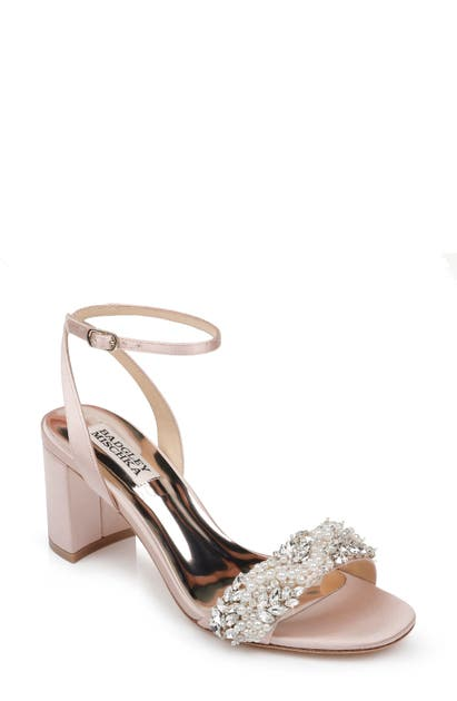 Badgley Mischka Sandals BADGLEY MISCHKA CLARA EMBELLISHED SANDAL