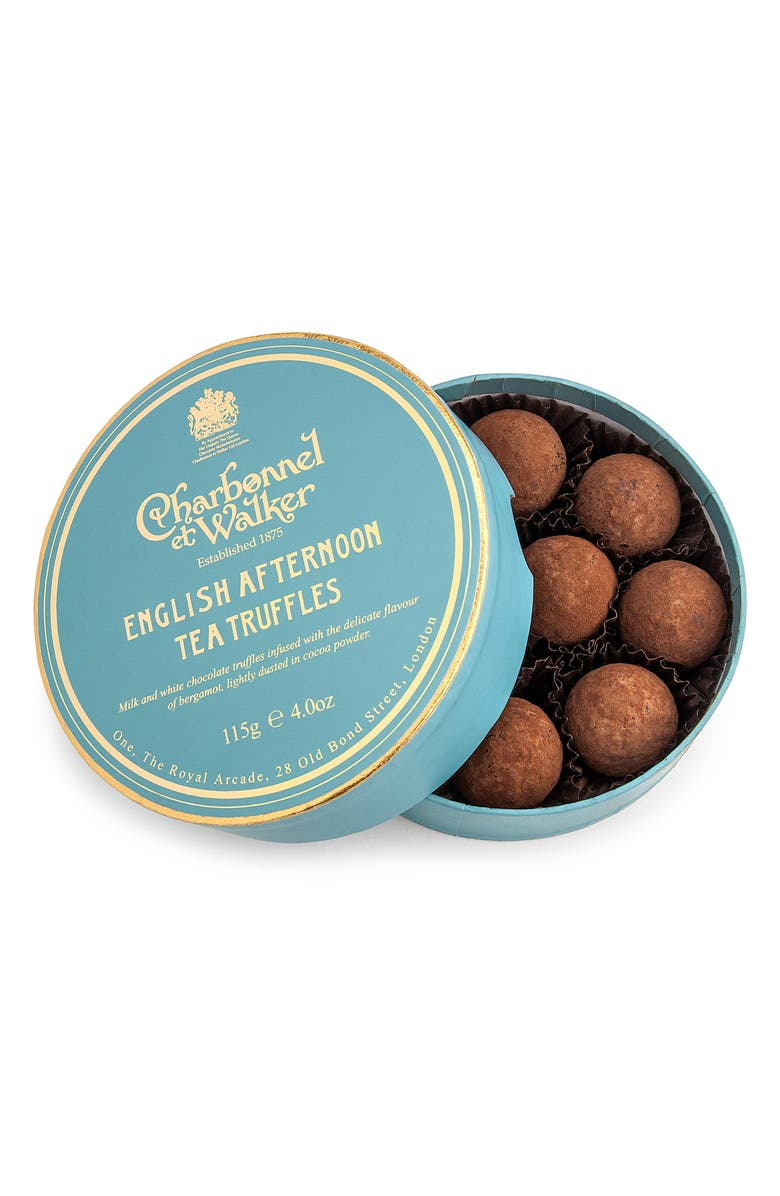 CHARBONNEL ET WALKER Flavored Chocolate Truffles in Gift Box, Main, color, AFTERNOON TEA