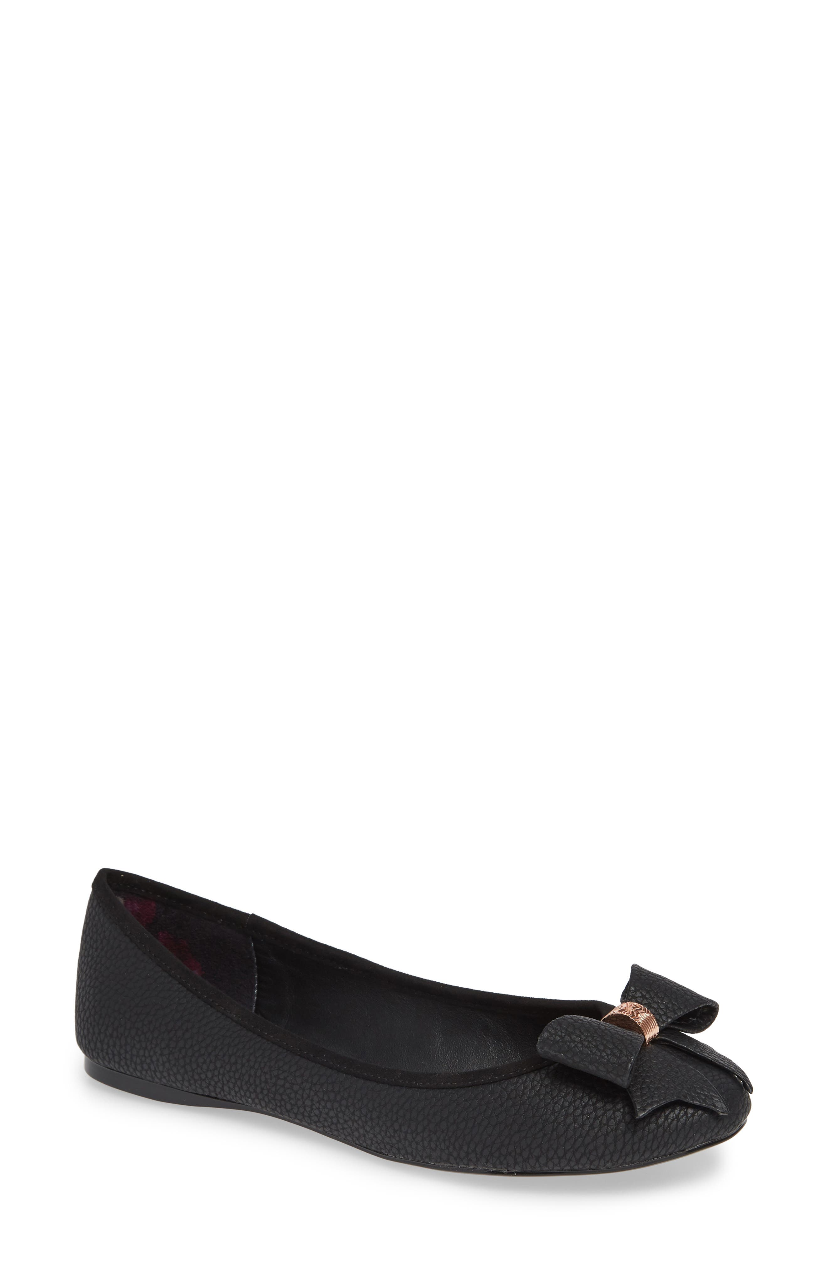 Ted Baker London Sually Flat - Black