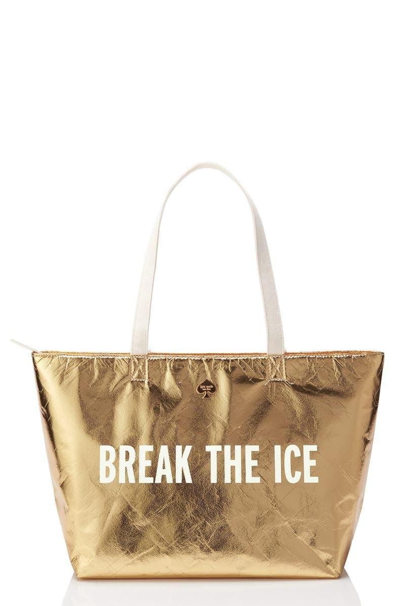 KATE SPADE NEW YORK 'break the ice' cooler bag, Main, color, 710