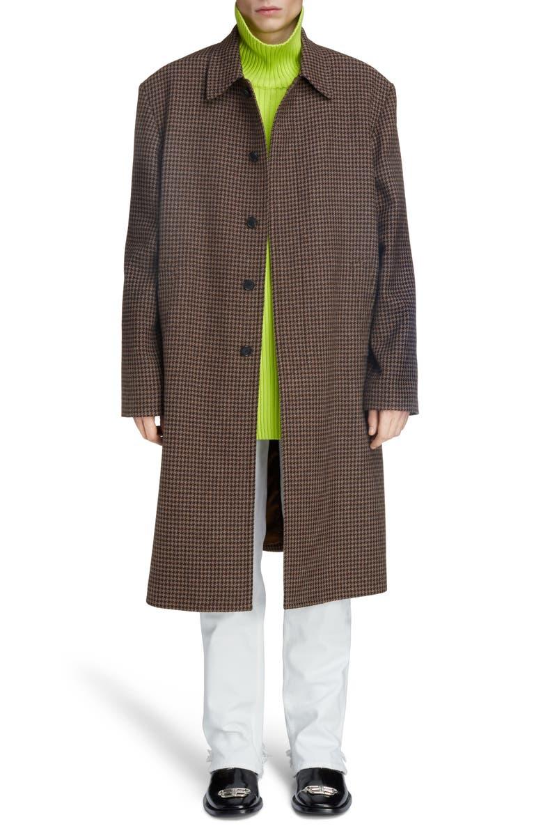 Wool Car Coat by Balenciaga