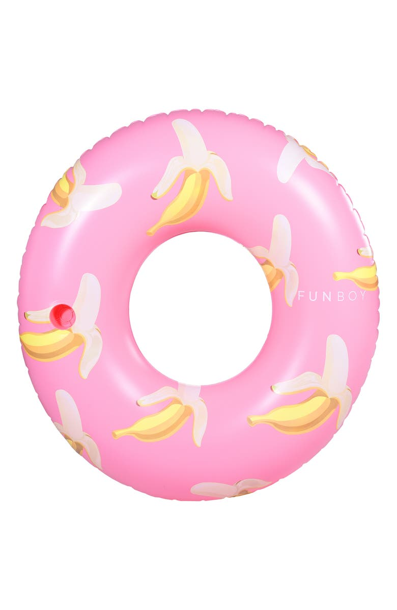 FUNBOY Banana Inflatable Pool Tube, Main, color, MULTI