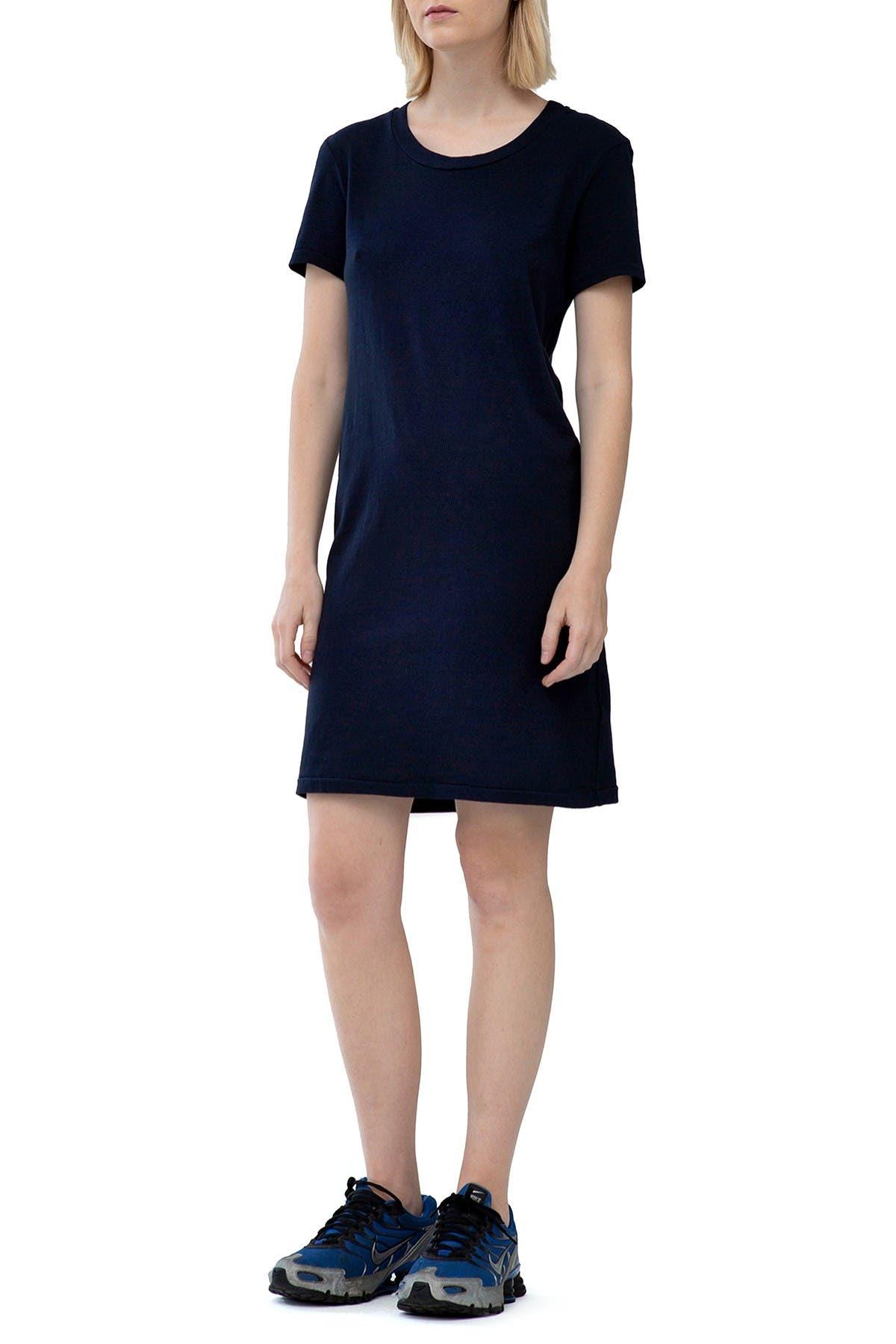Image of Stateside Heavy Jersey Crewneck T-Shirt Dress