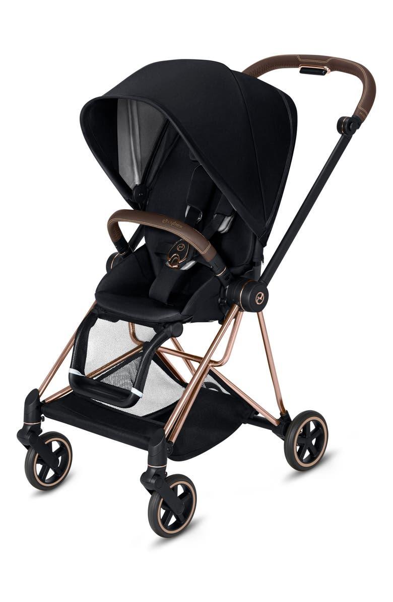 CYBEX Mios Compact Stroller, Main, color, BLACK