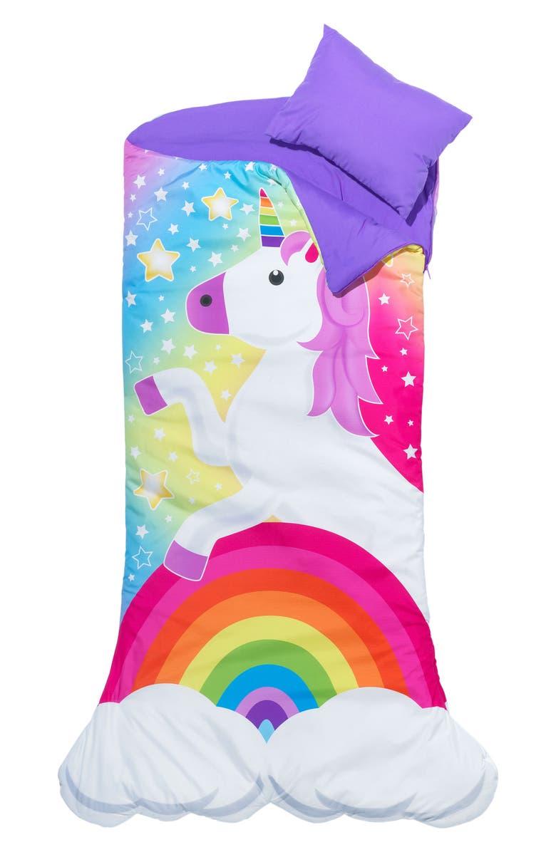 3C4G Unicorn Sleeping Bag Set, Main, color, MULTI