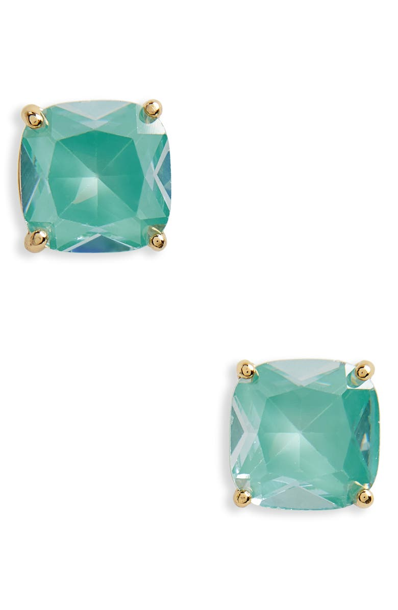 KATE SPADE NEW YORK small square enamel stud earrings, Main, color, 300