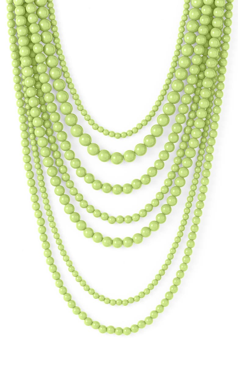RJ GRAZIANO Long Beaded Layer Necklace, Main, color, 341