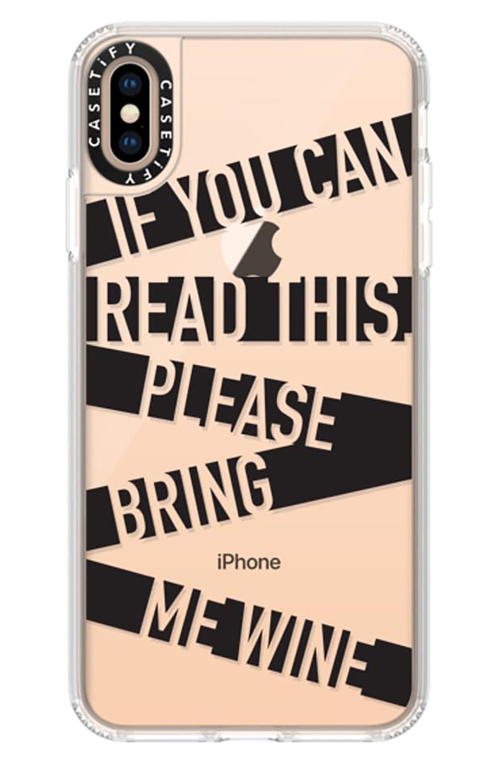 iphone xs max wine case