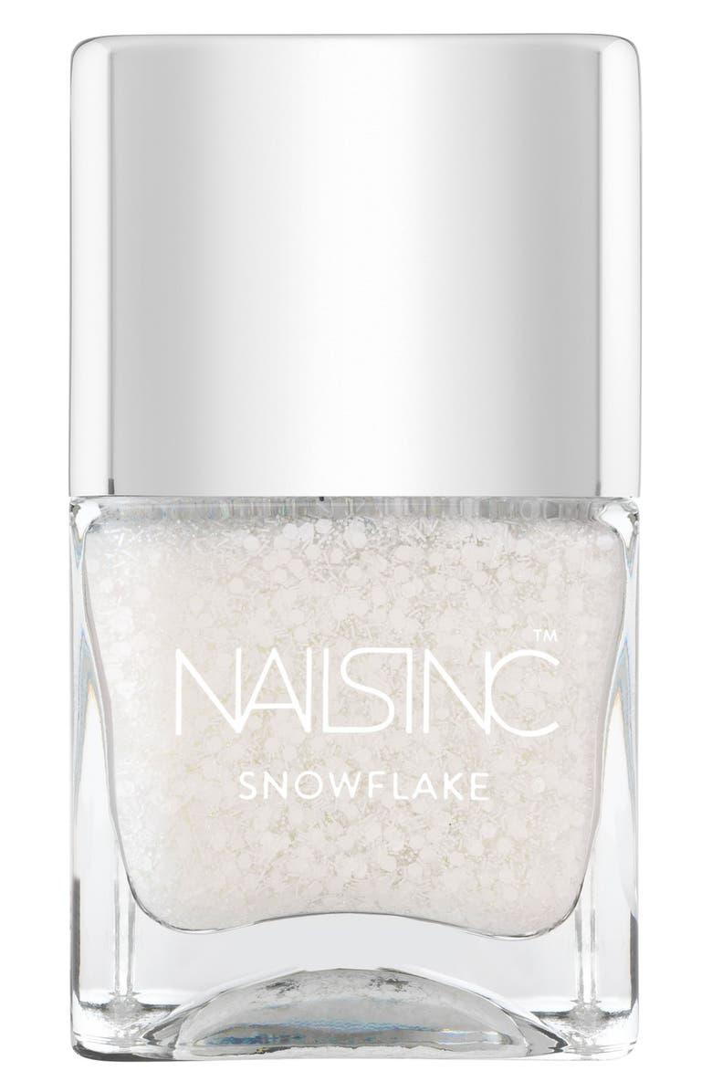 NAILS INC. LONDON 'Snowflake' Nail Polish, Main, color, 100