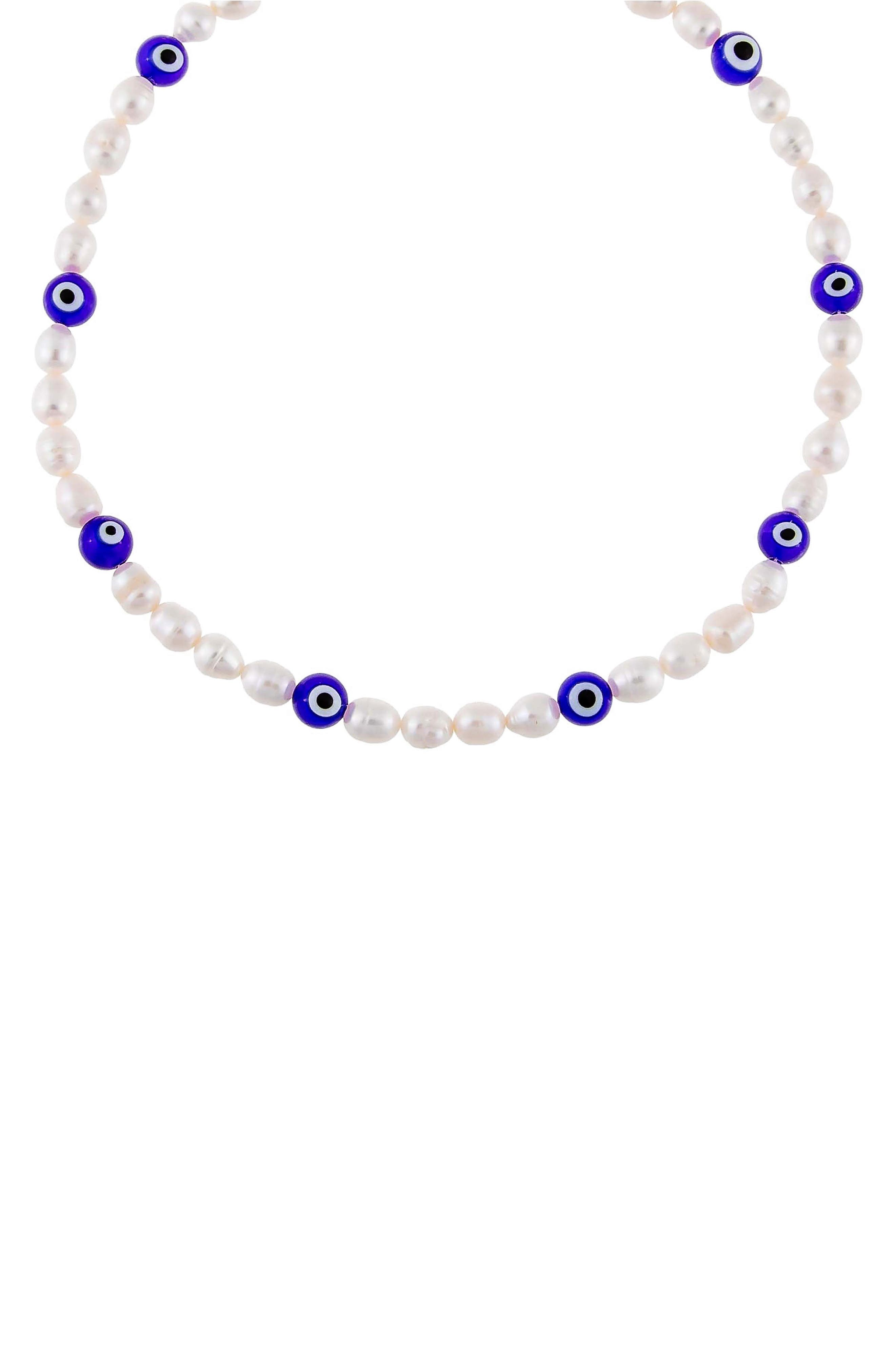 Women's Adina's Jewels Freshwater Pearl Beaded Necklace