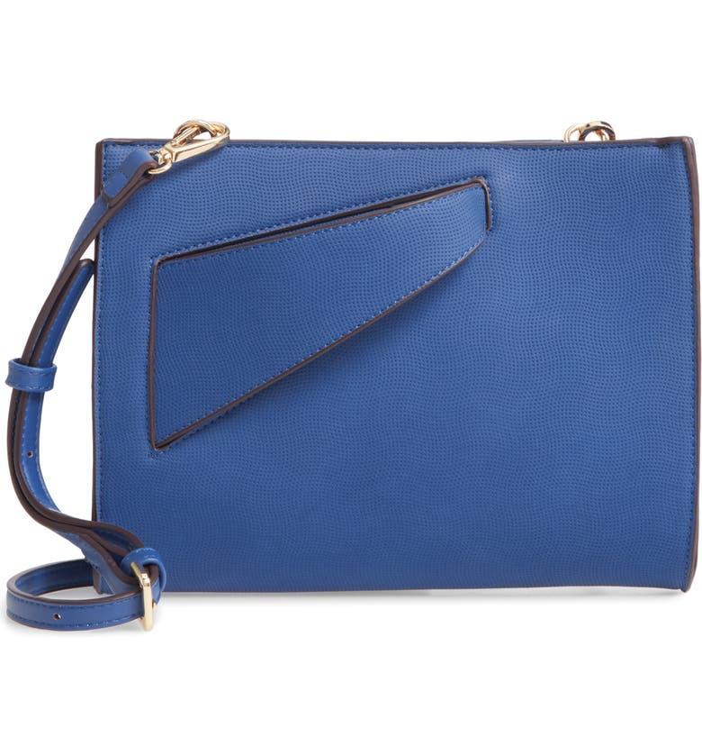 SONDRA ROBERTS Convertible Clutch, Main, color, BLUE