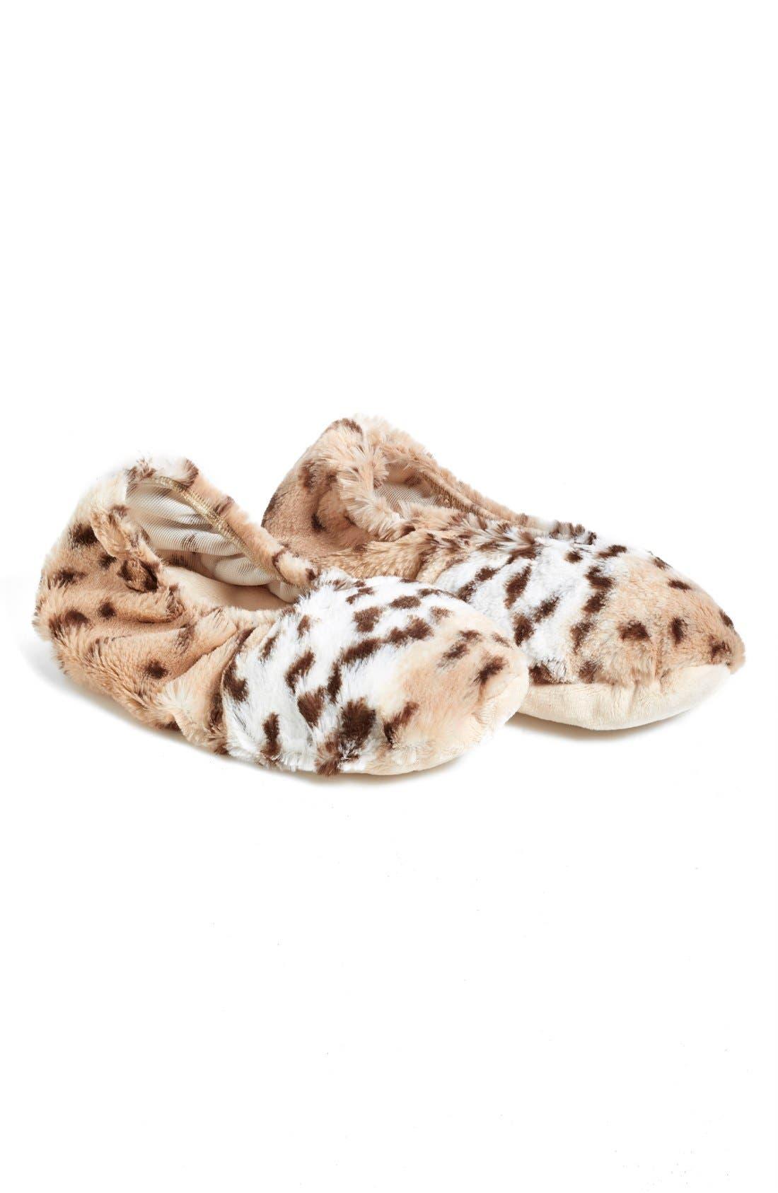,                             'Snow Leopard' Footies,                             Main thumbnail 1, color,                             000