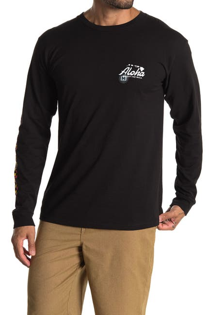 Image of VANS Aloha Pixelate Long Sleeve T-Shirt