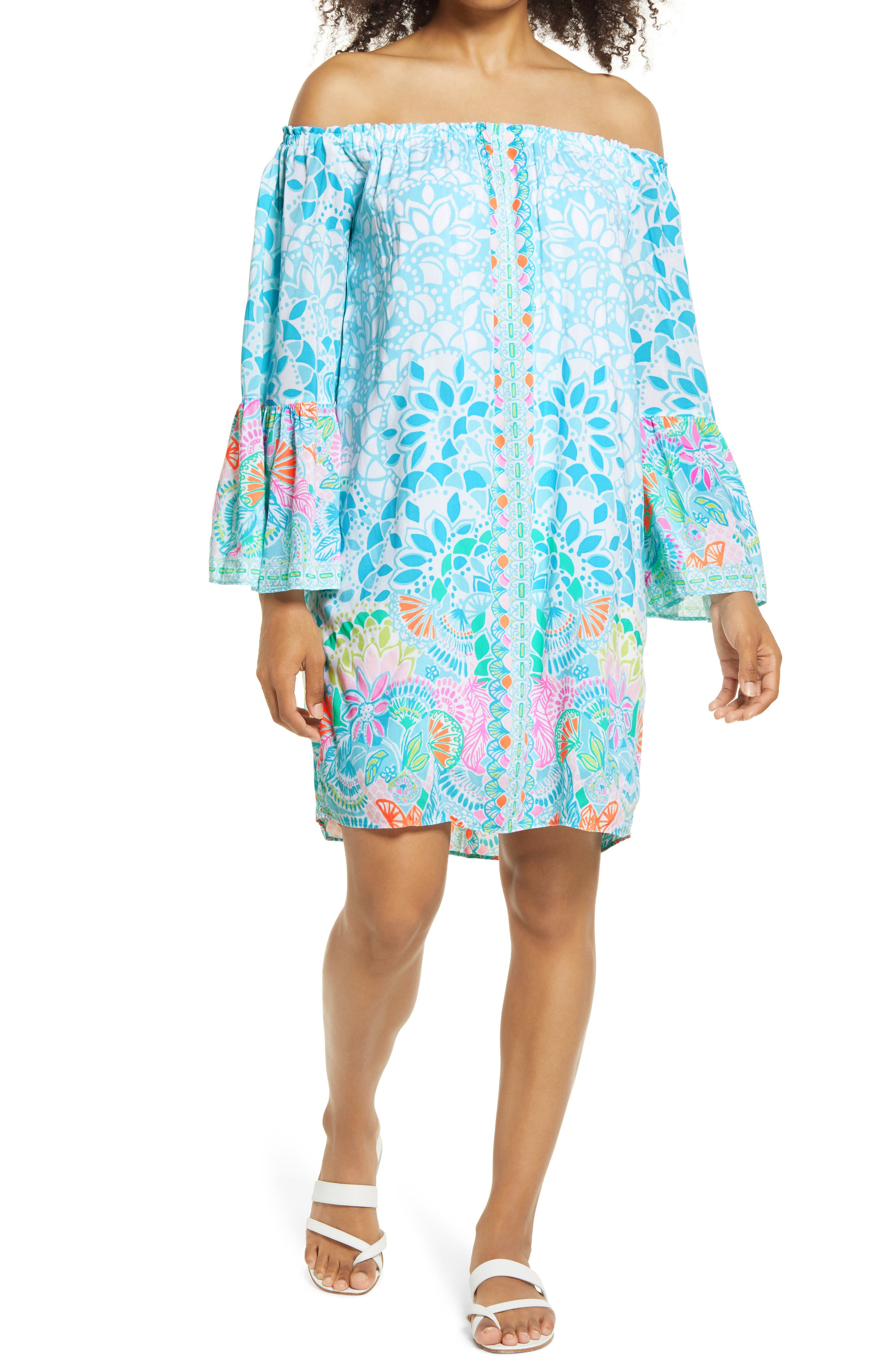 Women's Lilly Pullitzer Nevie Off The Shoulder Dress