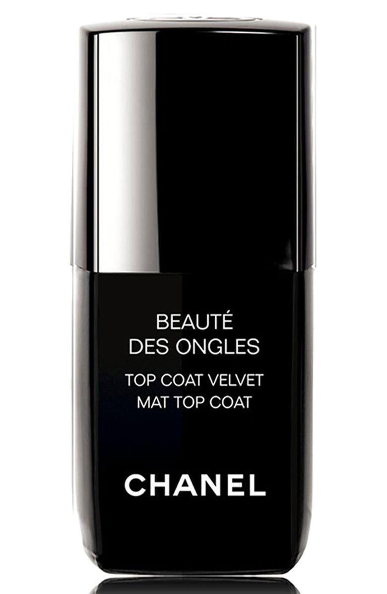 CHANEL BEAUTE DES ONGLES <br />Top Coat Velvet, Main, color, 000
