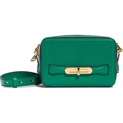 Alexander Mcqueen The Myth Small Leather Camera Bag - Green