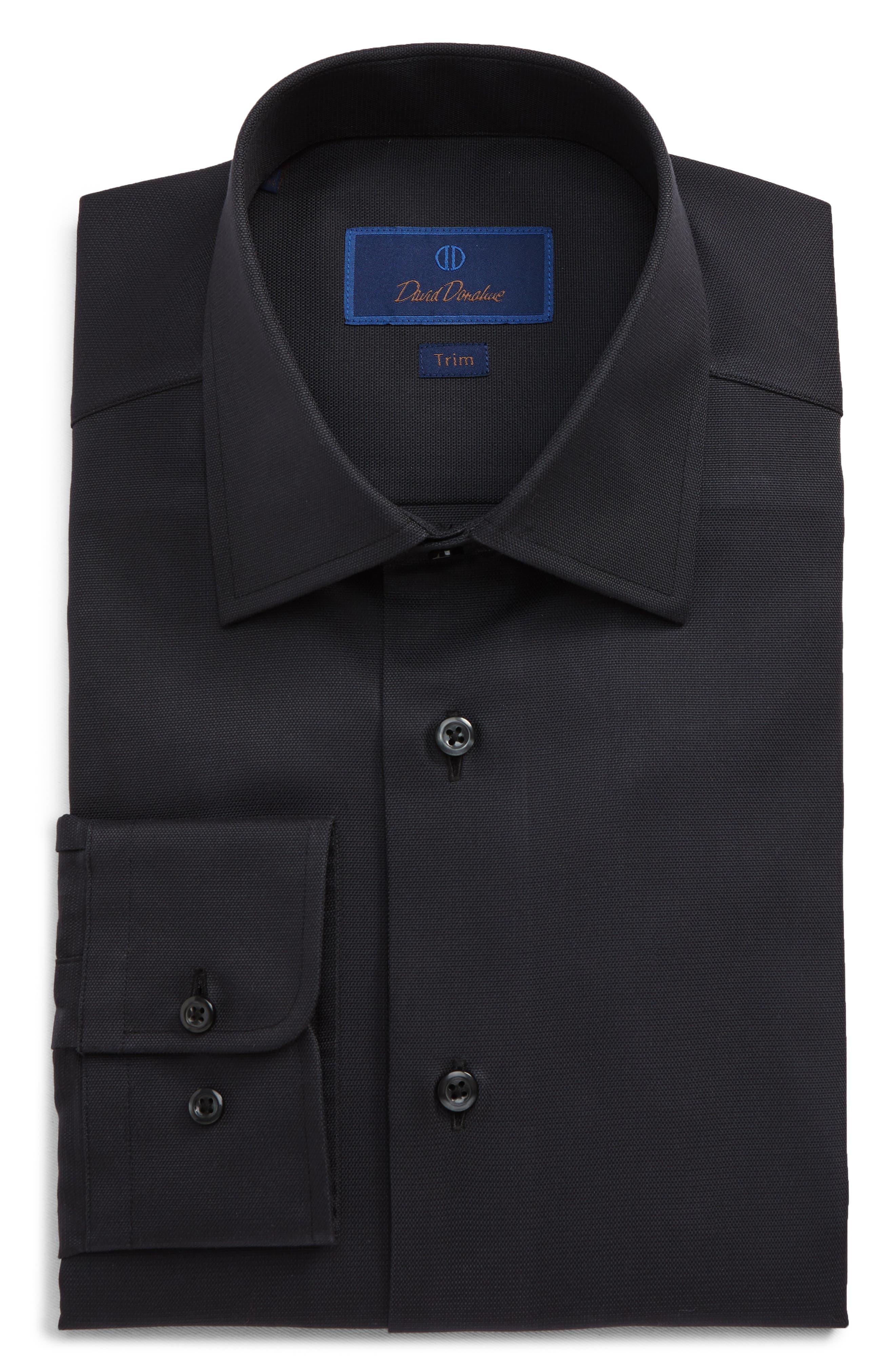 Trim Fit Cotton Dress Shirt