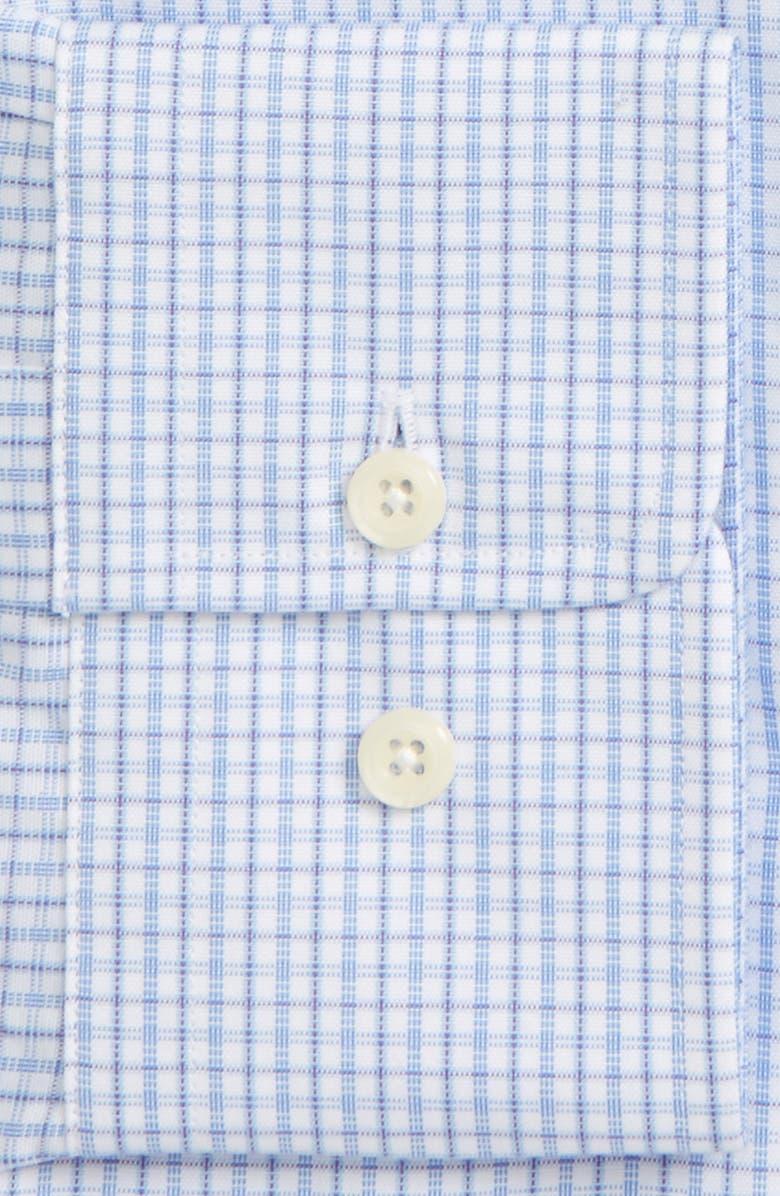 DAVID DONAHUE Regular Fit Check Dress Shirt, Main, color, 455