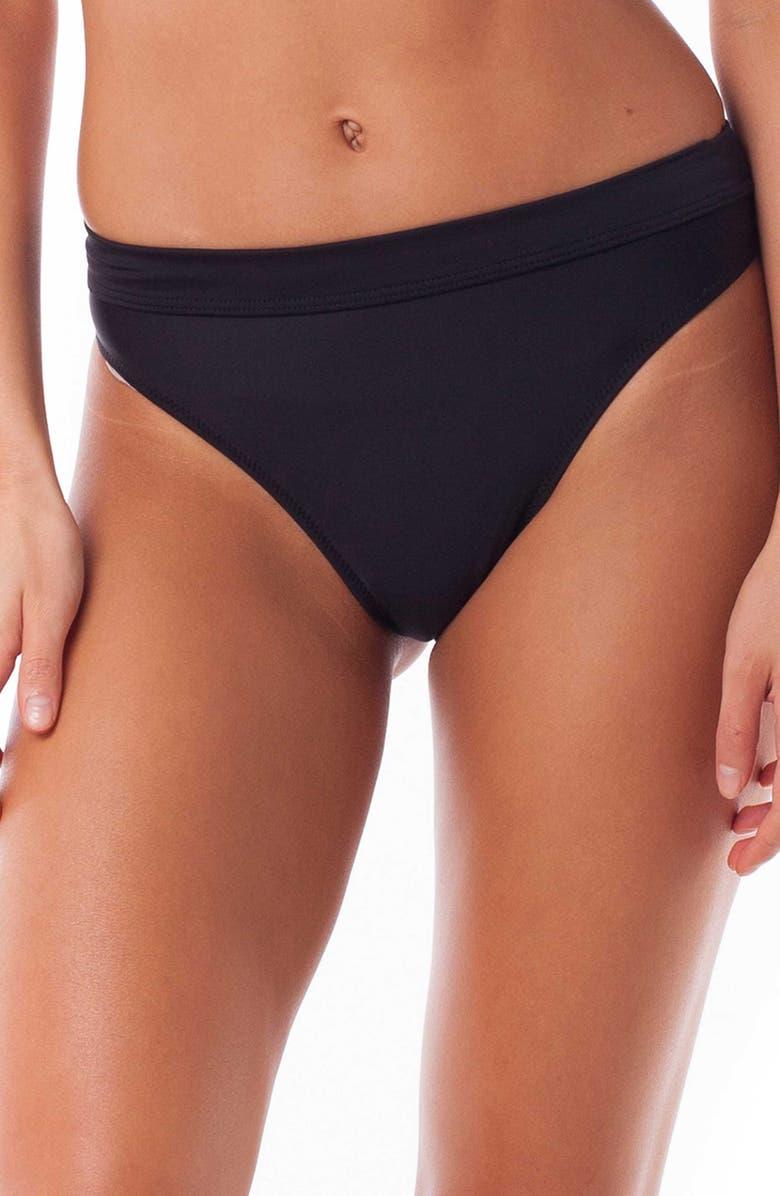 RHYTHM Islander Xanadu High Cut Bikini Bottoms, Main, color, 001