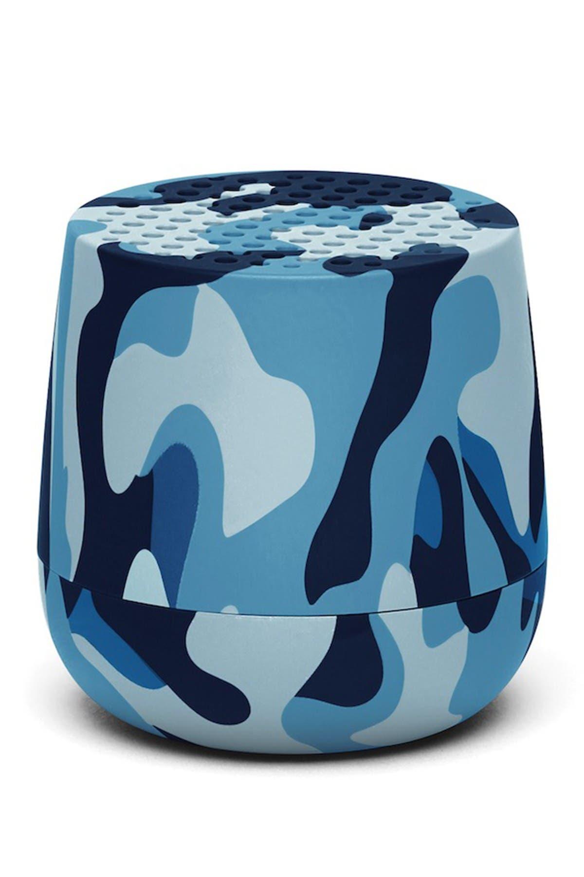 Image of Lexon MINO 3W Portable Bluetooth Speaker - Camo Blue