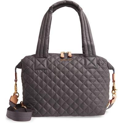 Mz Wallace Medium Sutton Bag - Grey