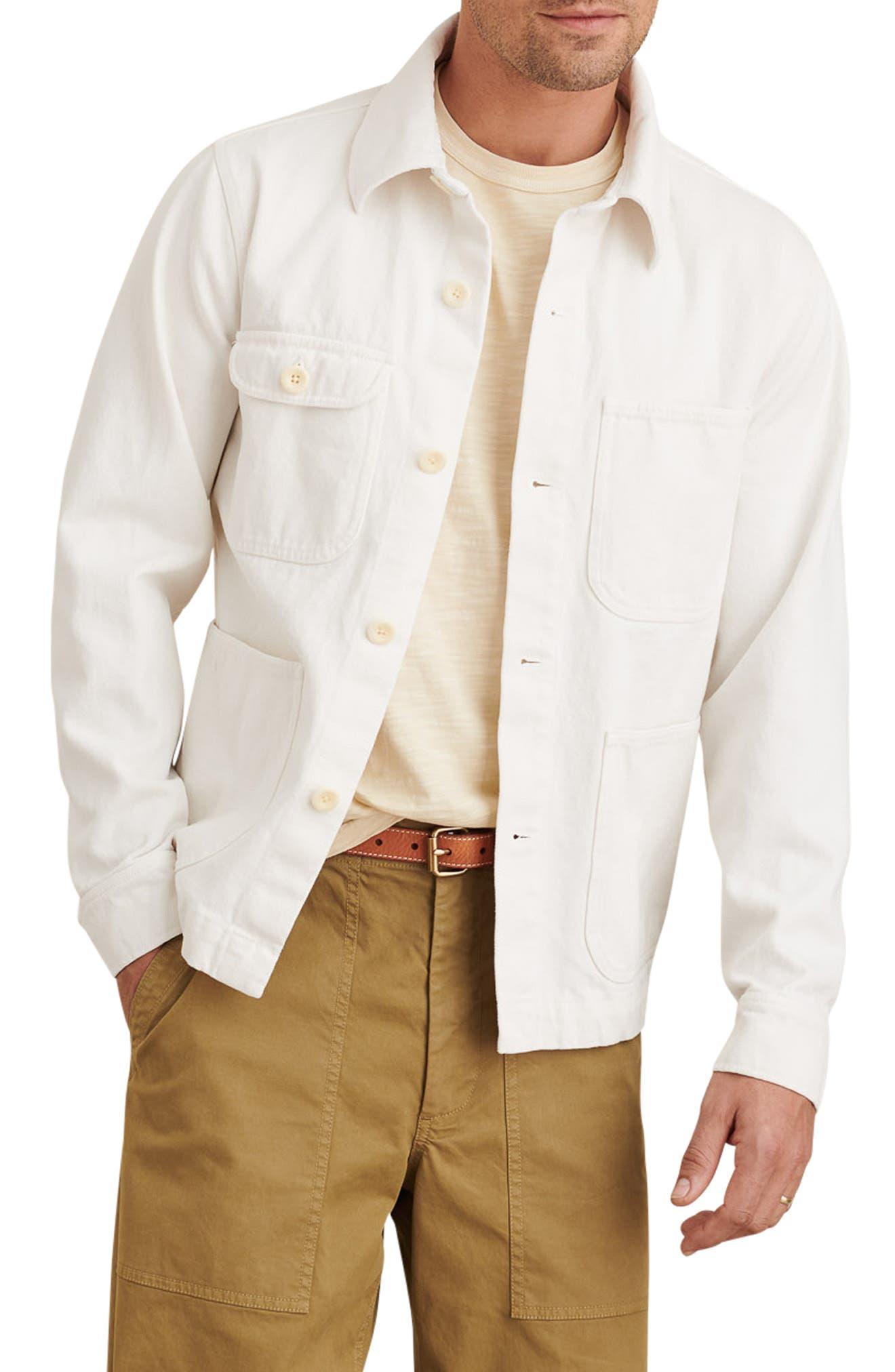 Garment Dyed Work Jacket