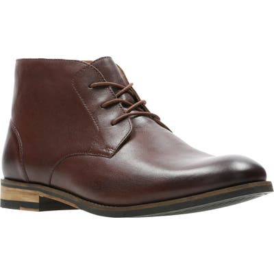 Clarks Flow Top Chukka Boot, Brown