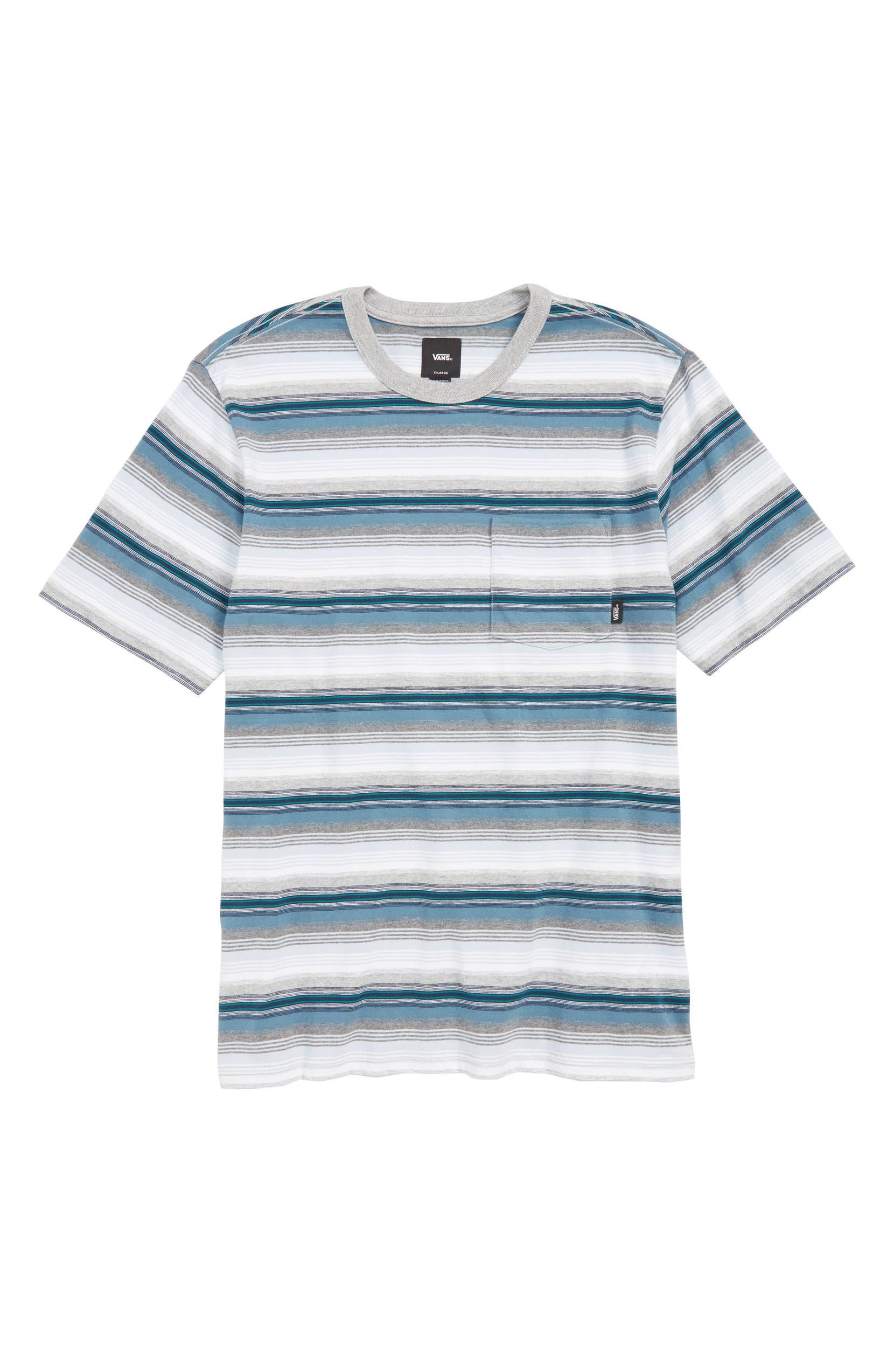 354316643 Vans Redmond Stripe T-Shirt (Big Boys) | Nordstrom