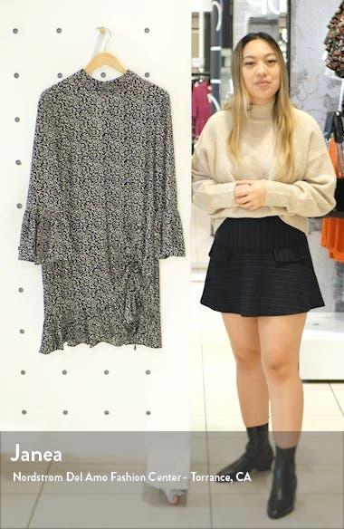 Feel It Again Ruffle Minidress, sales video thumbnail
