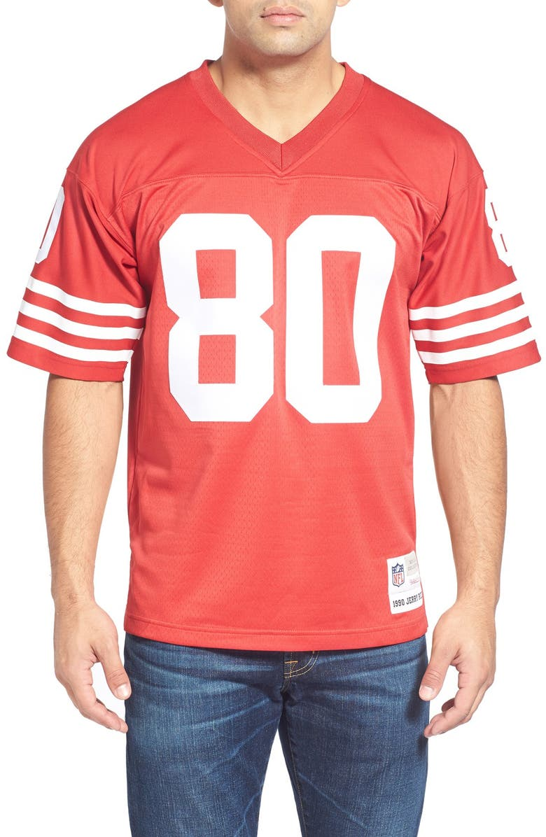 official photos 80978 aeedd Mitchell & Ness 'Jerry Rice' Replica Jersey | Nordstrom