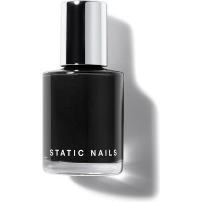 Static Nails Liquid Glass Nail Lacquer - Dark Room