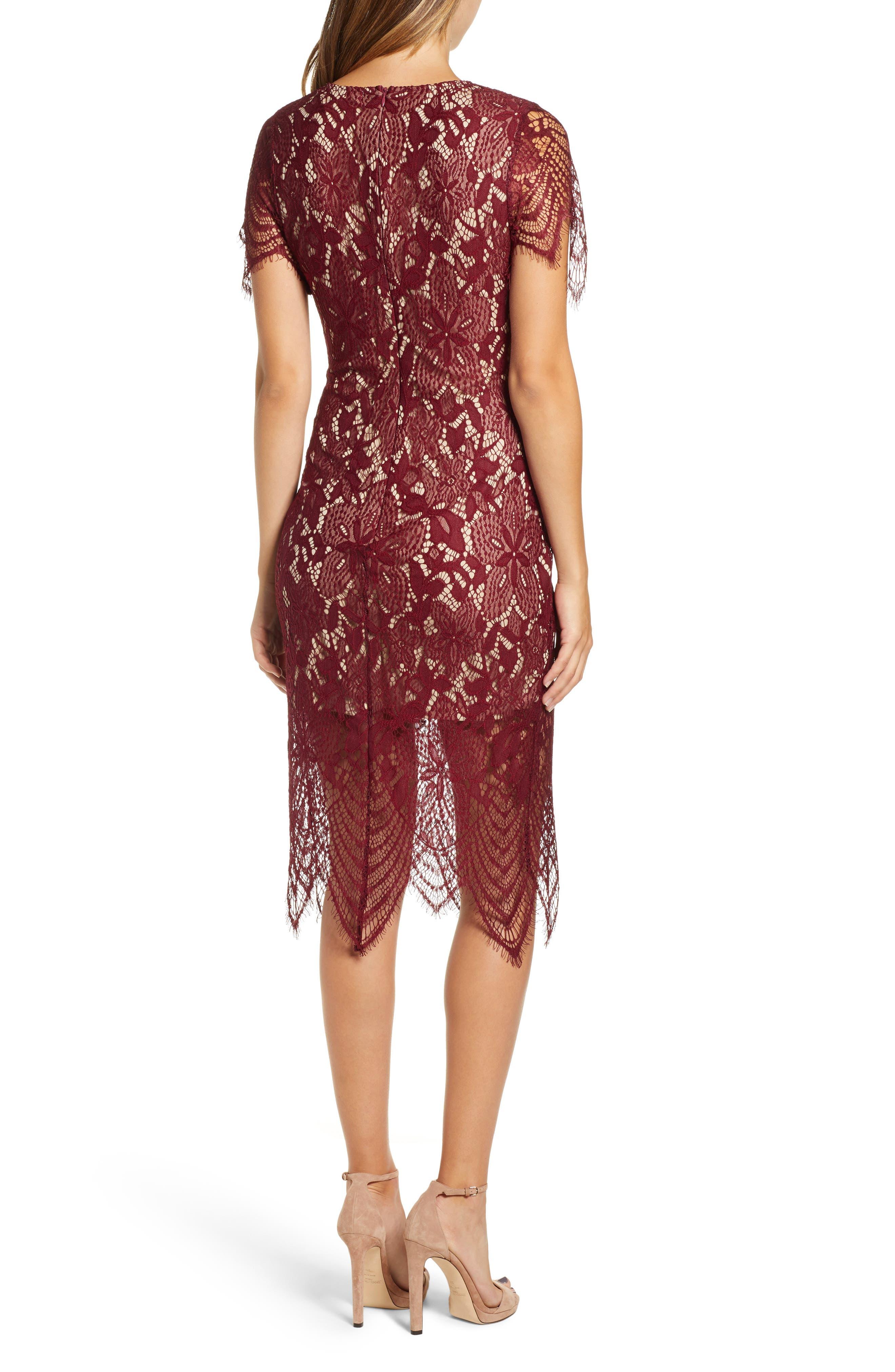 ,                             Scallop Lace Dress,                             Alternate thumbnail 10, color,                             930