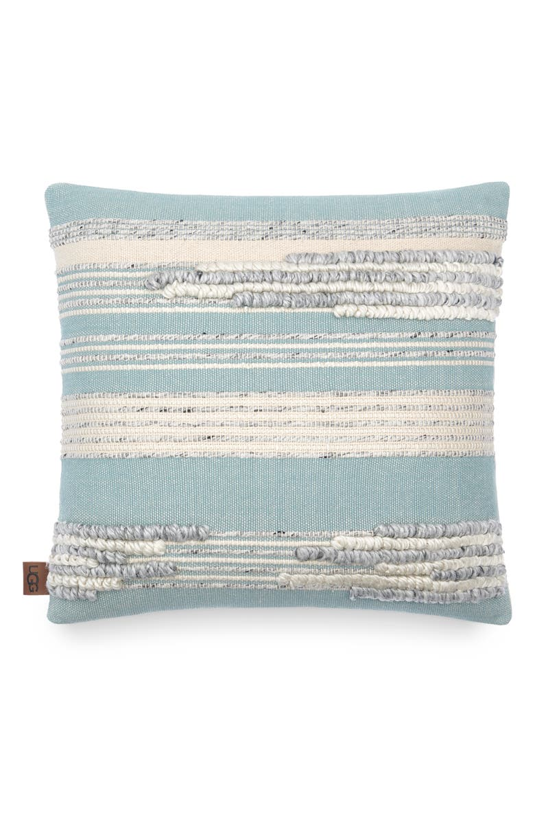 UGG<SUP>®</SUP> Linda Accent Pillow, Main, color, ABYSS