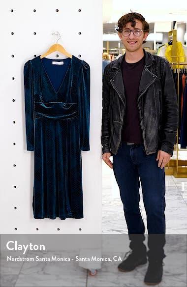 I'm Nominated Long Sleeve Velvet Dress, sales video thumbnail