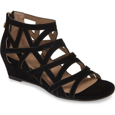 Bettye Muller Concepts Sashi Cutout Sandal, Black