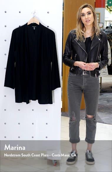 Open Front Shawl Jacket, sales video thumbnail