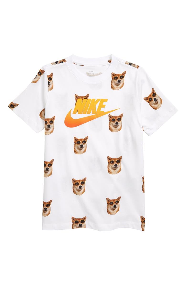 6eaa5470 Nike Sportswear Air Dog Graphic T-Shirt (Little Boys & Big Boys ...