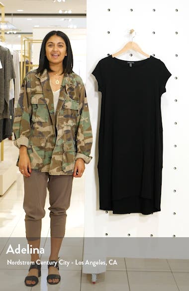 Bateau Neck Cap Sleeve Dress, sales video thumbnail