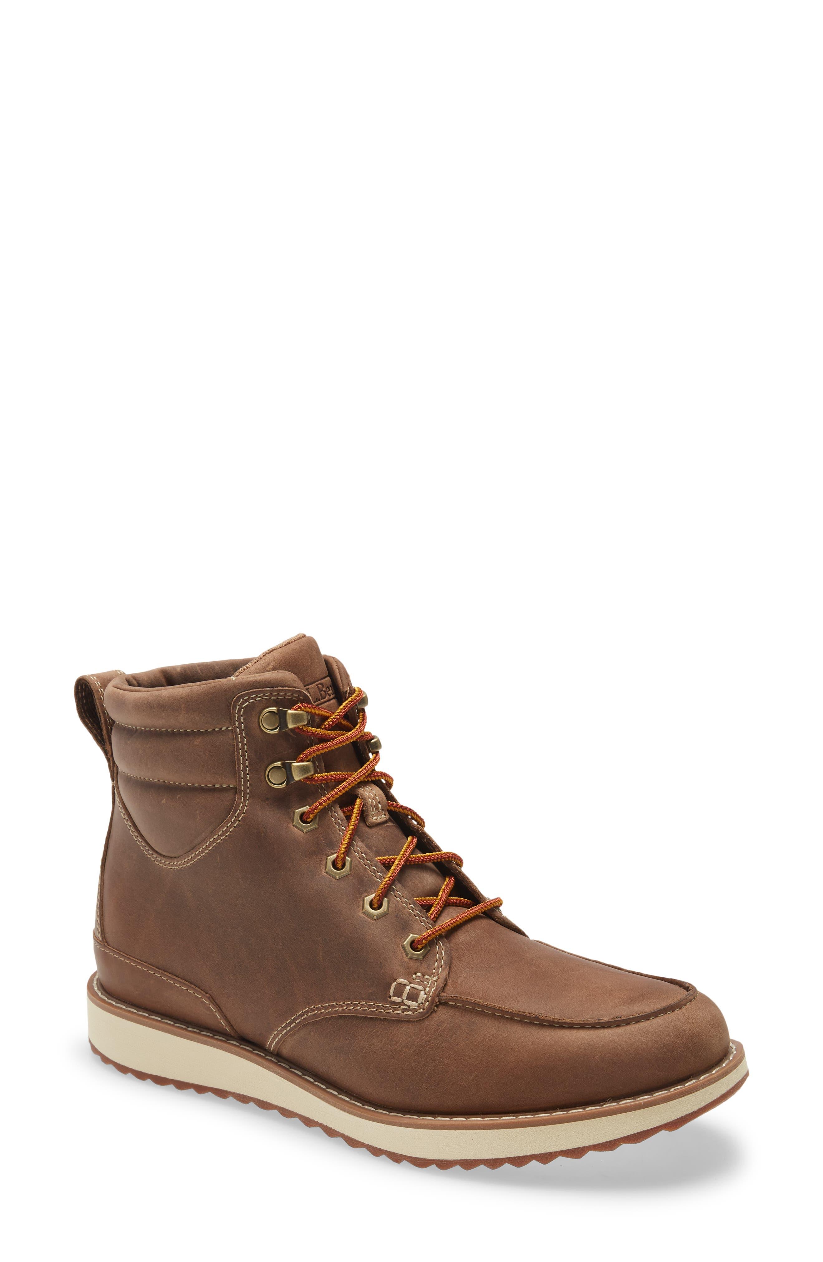 Stonington Moc Toe Boot