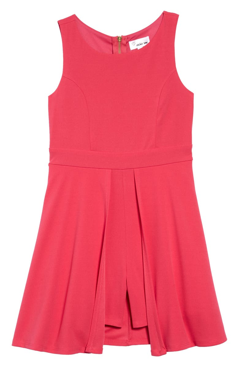 LOVE, NICKIE LEW Love Nickie Lew Romper Dress, Main, color, 670