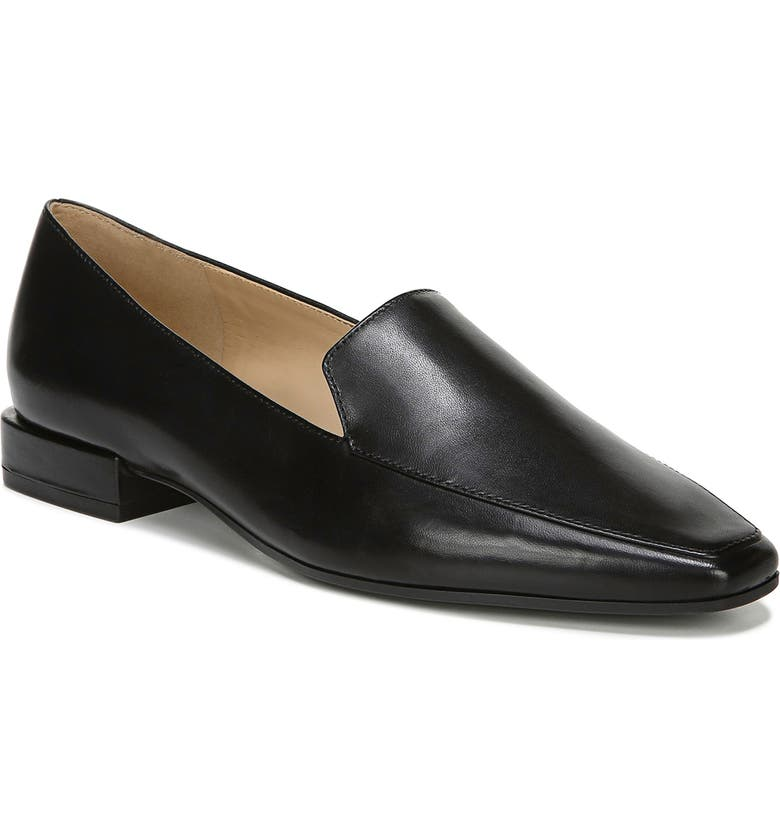 NATURALIZER Clea Loafer, Main, color, BLACK LEATHER