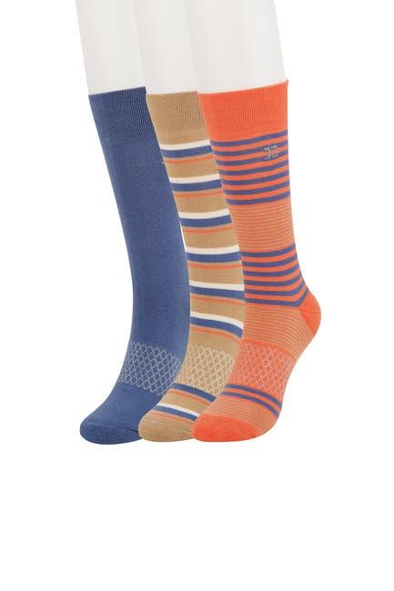 Image of Joe's Jeans Hale Stripe 3 Pack Socks