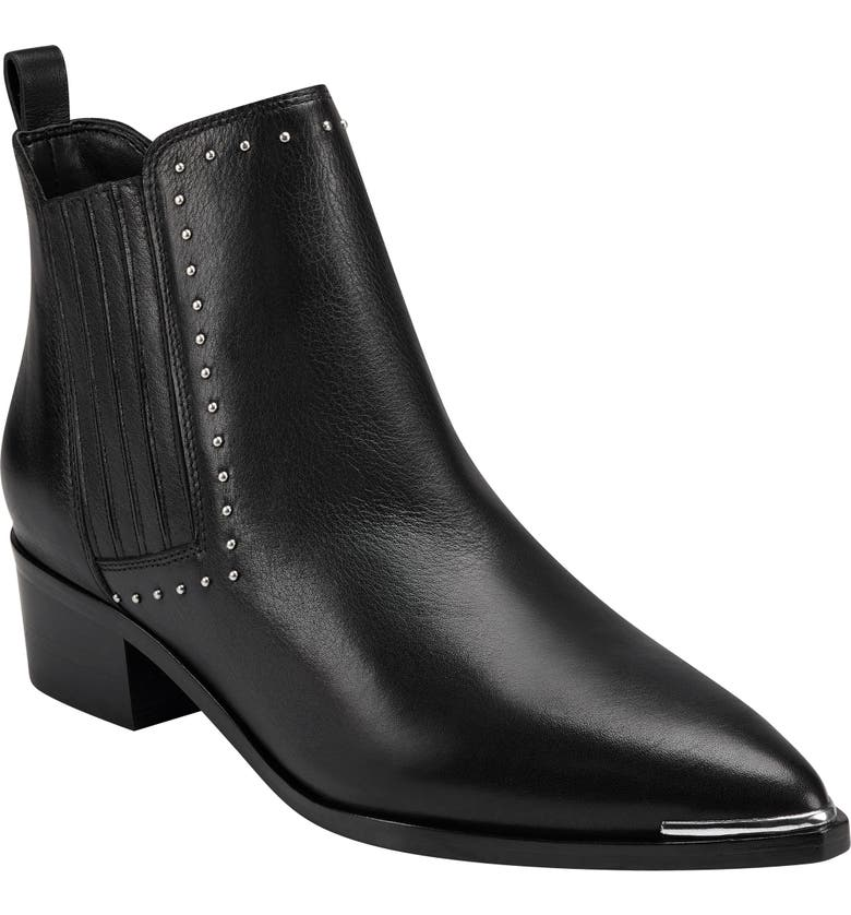 MARC FISHER LTD Yami Chelsea Boot, Main, color, BLACK LEATHER