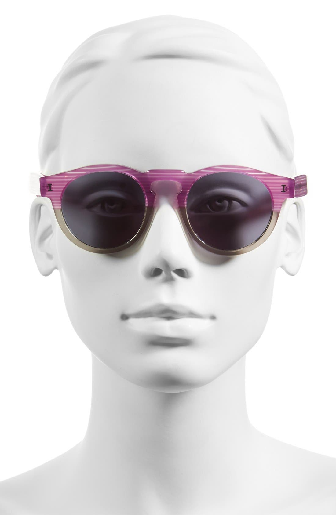 ,                             'Leonard' 47mm Sunglasses,                             Alternate thumbnail 130, color,                             500