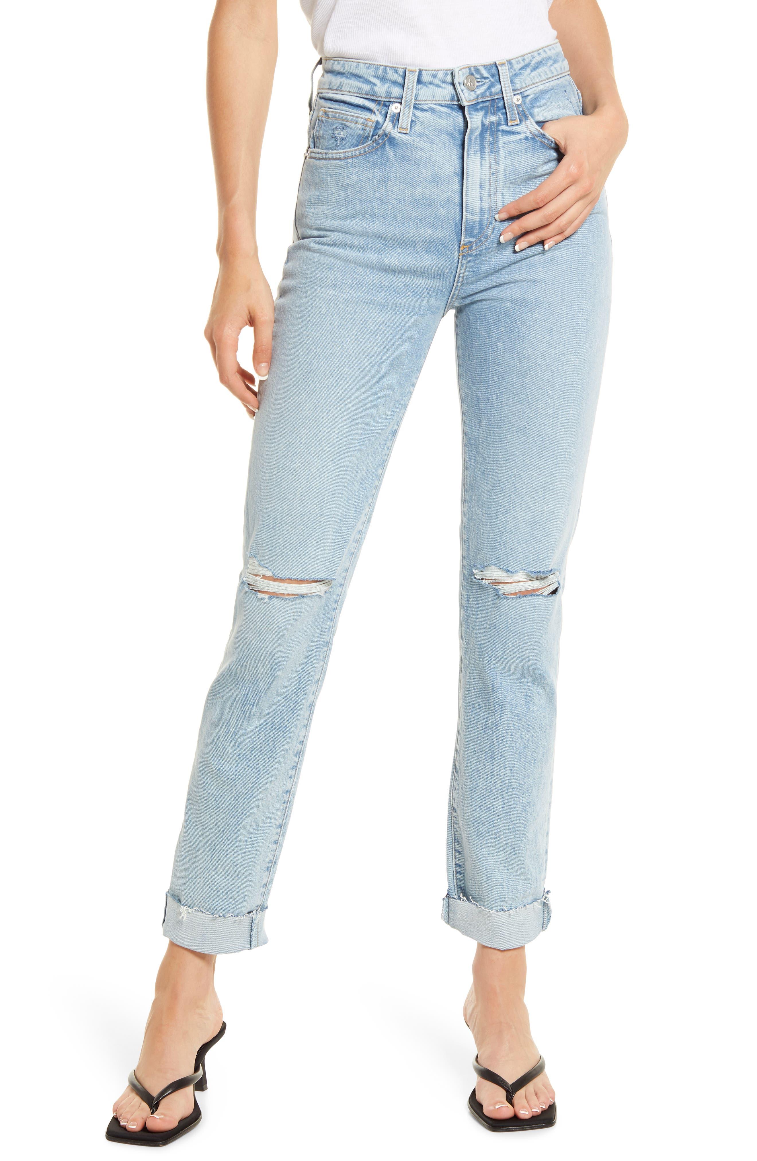 Lara High Waist Slim Jeans
