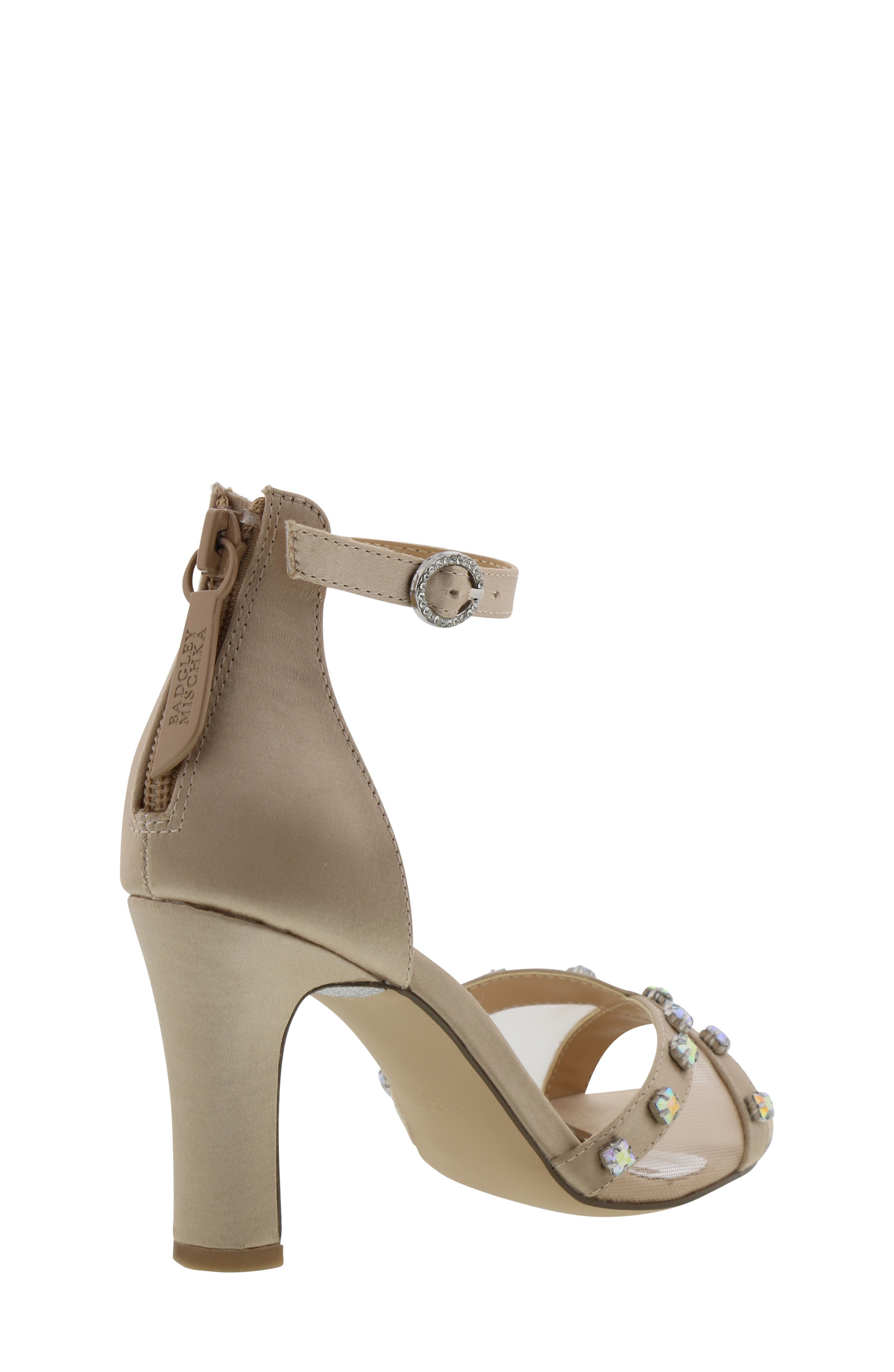 ,                             Badgley Mischka Kendall Glam Sparkle Sandal,                             Alternate thumbnail 2, color,                             CHAMPAGNE