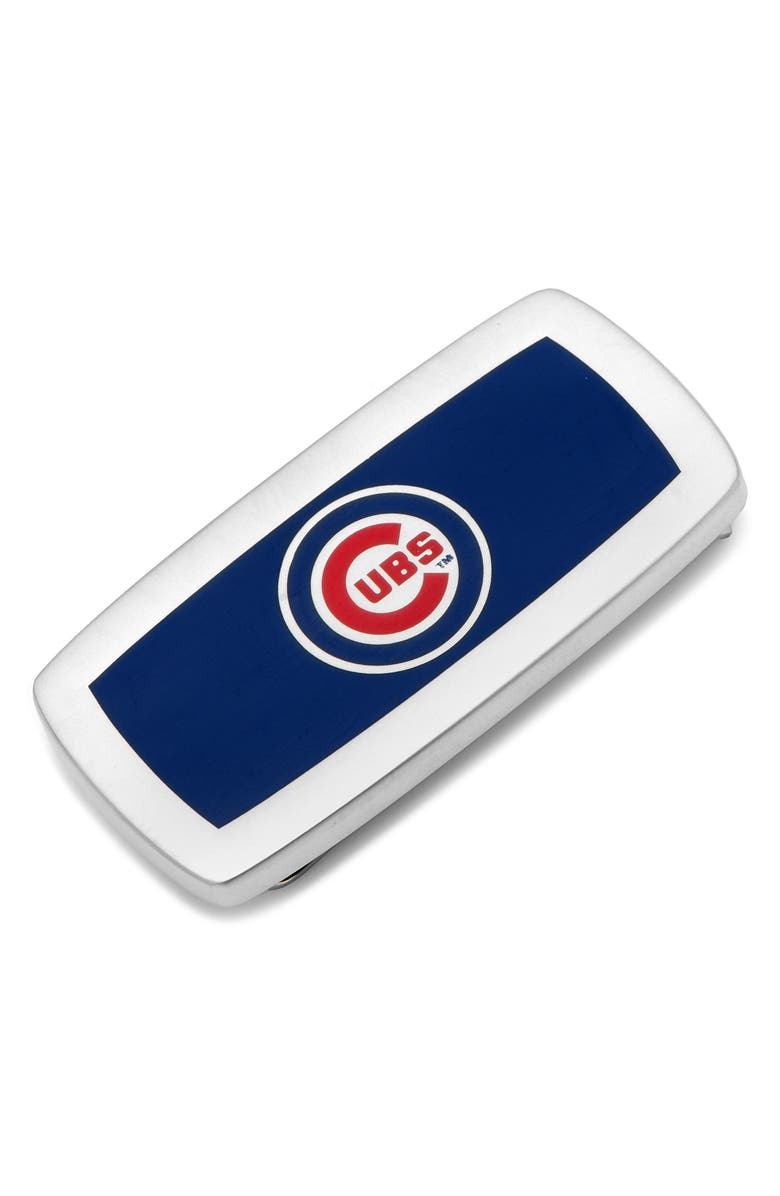 CUFFLINKS, INC. Chicago Cubs Money Clip, Main, color, 400