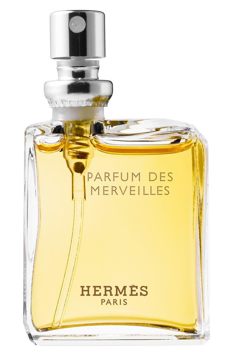 HERMÈS Eau des Merveilles Parfum des Merveilles - Pure perfume lock spray refill, Main, color, 000